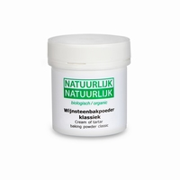 Organic cream of tartar baking powder<br />900g
