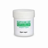 Organic agar-agar