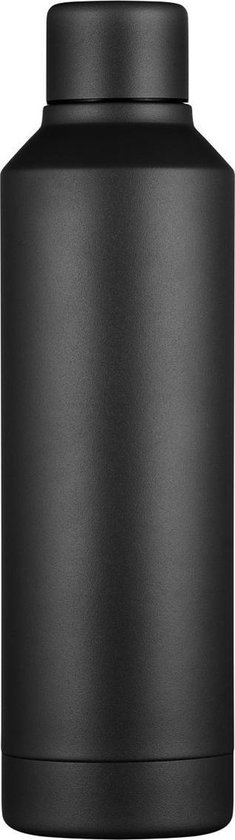 Ecoffee Cup Thermosfles Kerr & Napier Tall 500 Ml Rvs Zwart